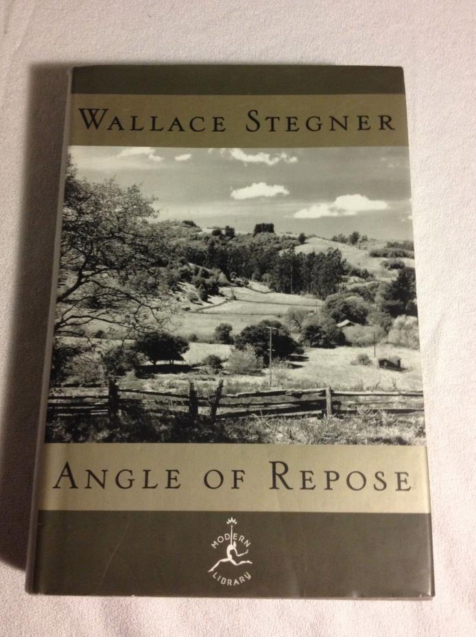 Angle of Repose by Wallace Stegner (2000, Hardcover, Very Good, Modern Library)
