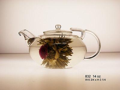 Tryeh 14 OZ Glass Teapot