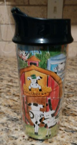 Starbucks Bodum French Cows Travel Mug French Press Switzerland
