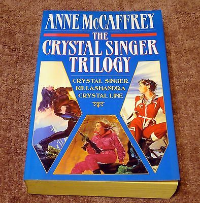 Anne McCaffrey - Crystal Singer Trilogy (3 in 1) - Killashandra, Crystal Line