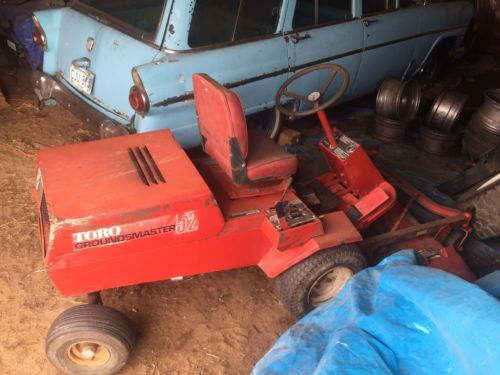 Toro Groundsmaster Mower For Sale Classifieds