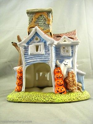 Partylite Retired Ghostly Tealight House-P7862-NIB