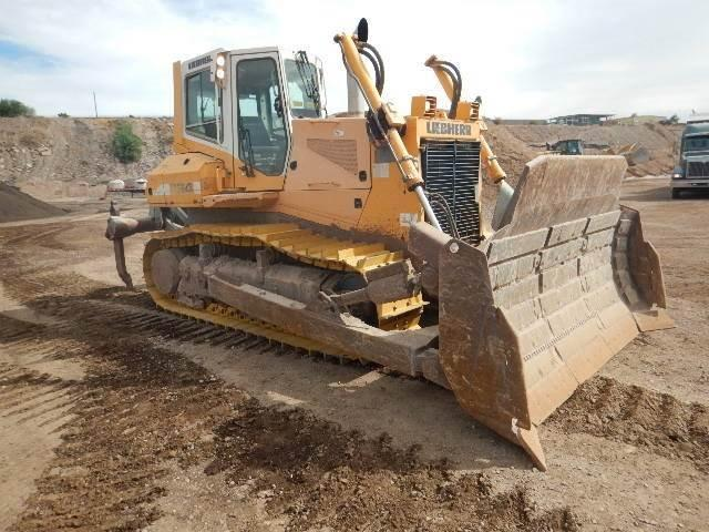 2009 LIEBHERR 734XL DOZER CAB HEAT/AC SU BLADE MS RIPPER NEW UC TIER 3