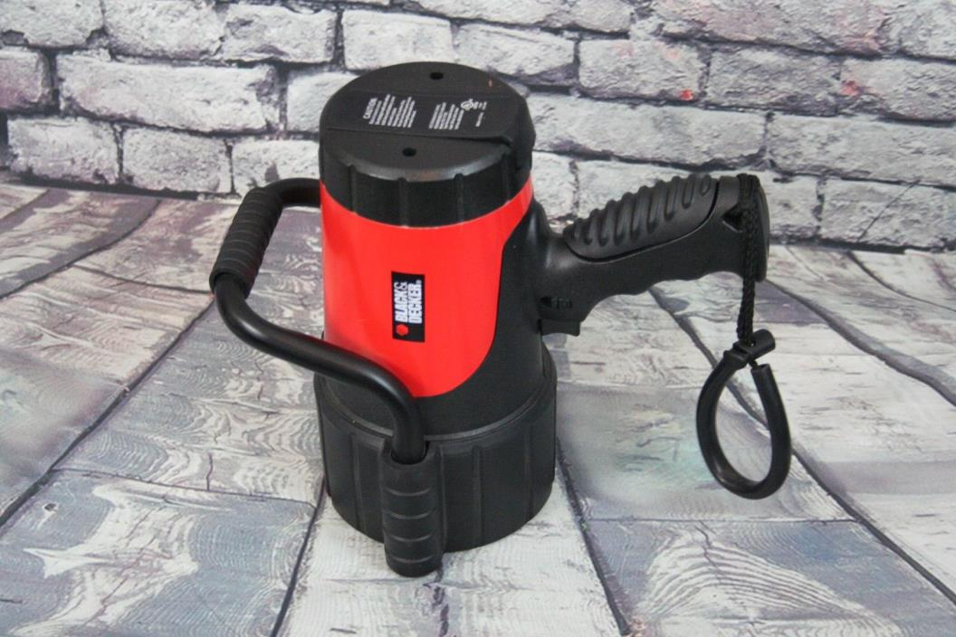 Black Decker Powerful Flashlight AS IS
