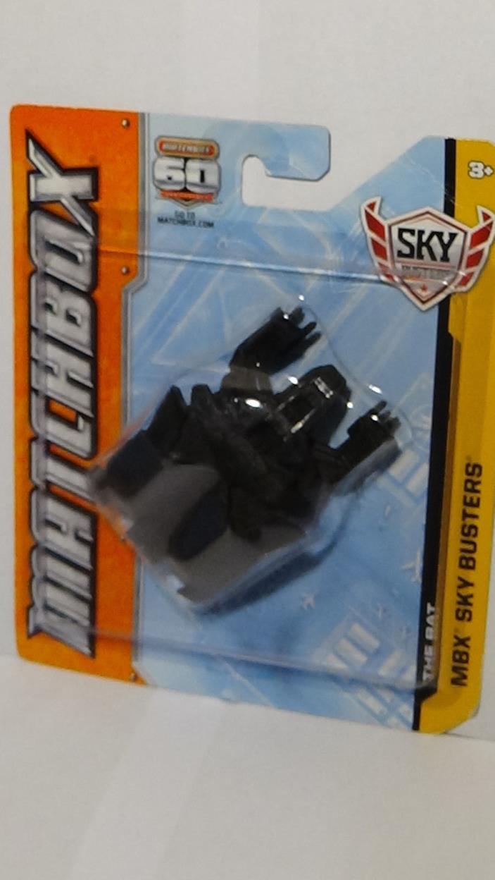 The Bat Die Cast Matchbox MBX Sky Busters 2012 Batman DC Comics Bat Plane Toy