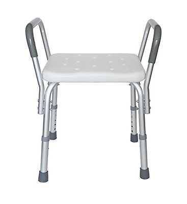 Heavy Duty Bath Bench with Removable Armrests Other Accessibility