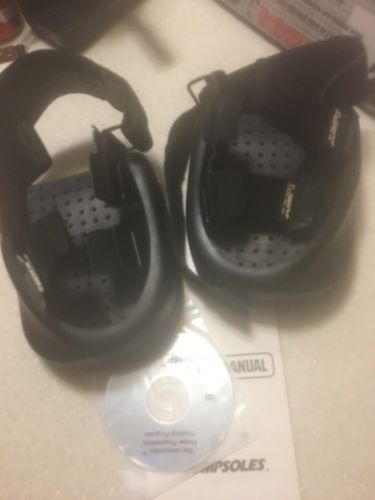 JumpSoles Jumps Plyometrics Vertical Jump Trainers - Men's Size Large (11-14)