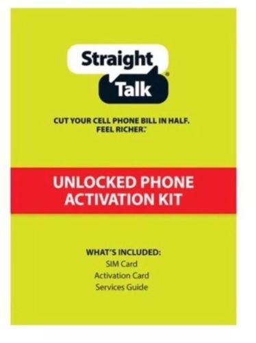 Straight Talk Standard Or Micro Sim Card