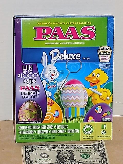 New PAAS Deluxe Easter Egg Decorating Kit