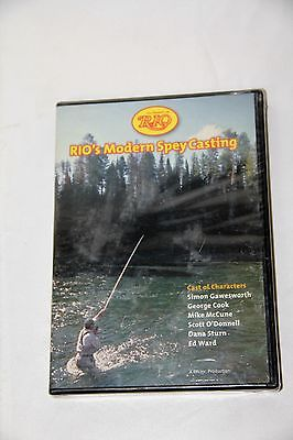 Rio Modern Spey Casting DVD 240 Minutes/ DVD Video Fly Fishing DVD Free Shipping