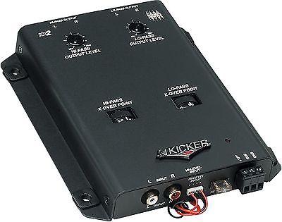 KICKER KX2  2-Way Active Crossover
