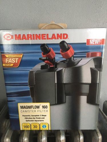 Marineland Magniflow 160 Canister Filter Up To 30 Gallon Tank Aquarium New