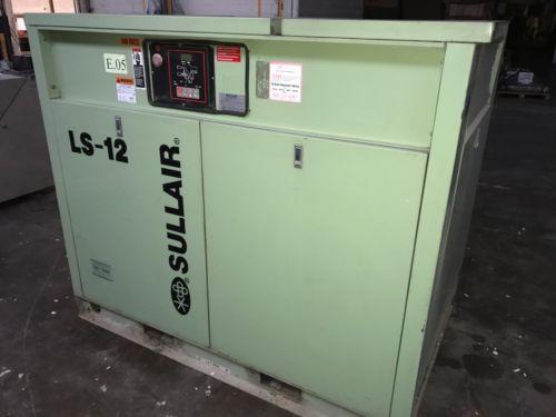 Sullair Corporation LS-12 50H Industrial Air Compressor