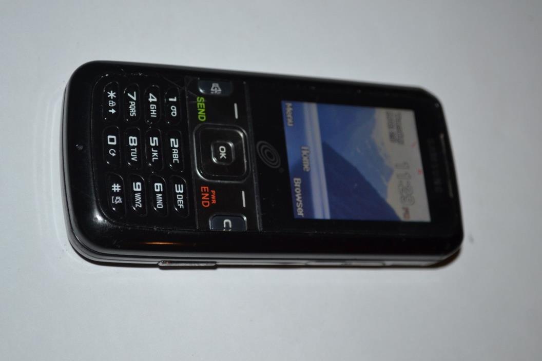 Samsung SCH-R451C Straight Talk Black, Prepaid, Ships Fast, Fair condition