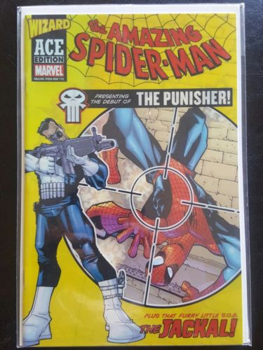 Amazing Spider-man #129 reprint 1st app Punisher Wizard Ace edition NM