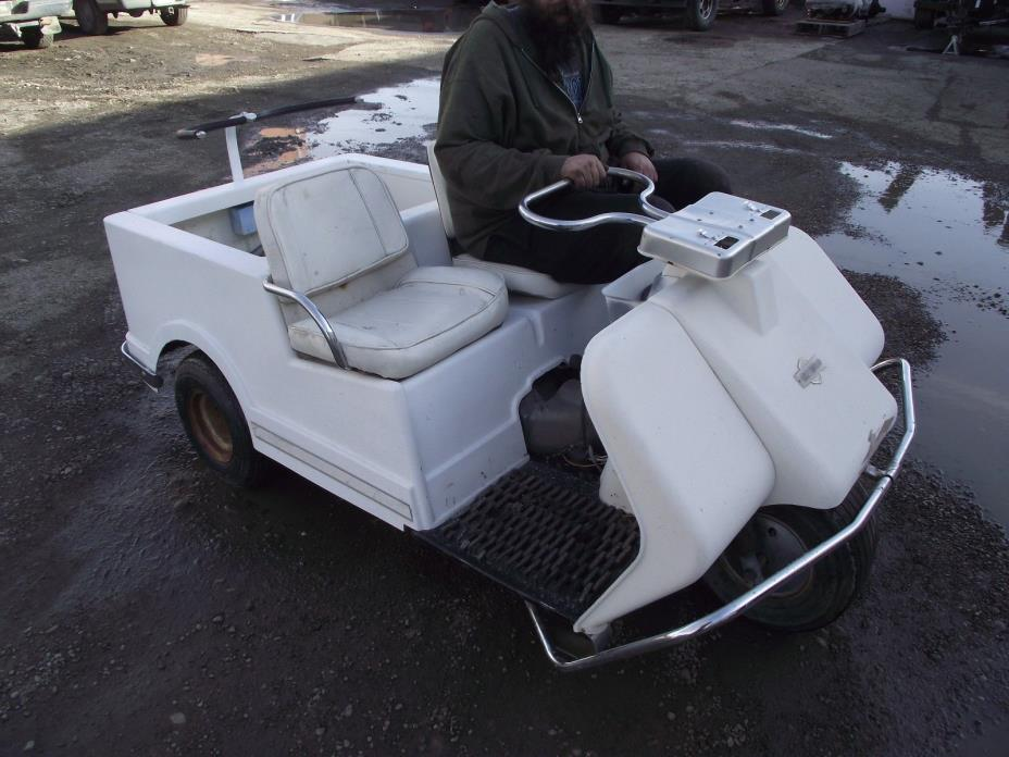 64 Harley Davidson Golf cart
