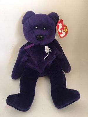 Collectible Rare 1997 Princess Diana Beanie Baby 1st Edition