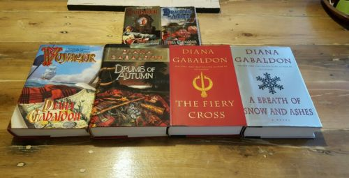 Diana Gabaldon Outlander Series Lot of 6, 2 PB, 4 HARDCOVER (3 are 1st Edition)