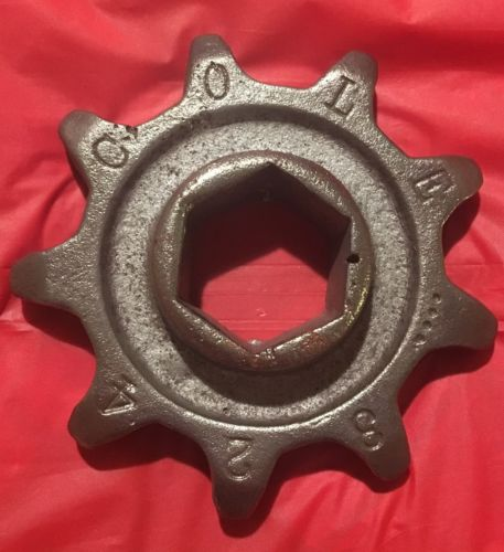 Cole Charlotte NC 1 Row Corn & Cotton Planter 9 Tooth Chain Distance Sprocket