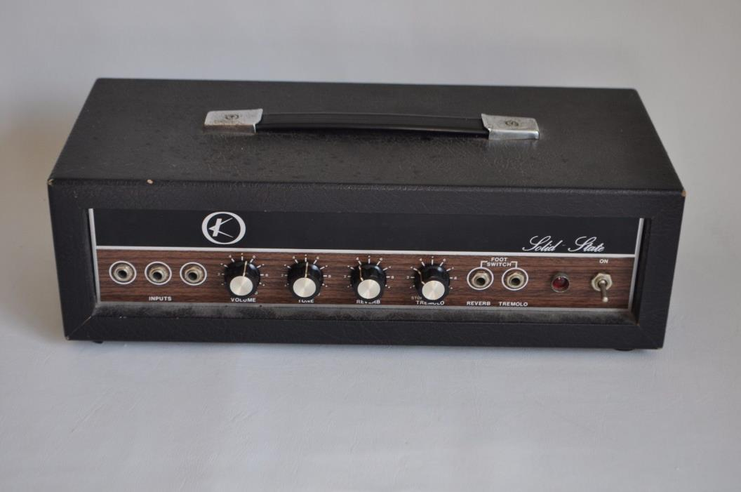 Vintage Kay Guitar Solid State Amplifier K-22