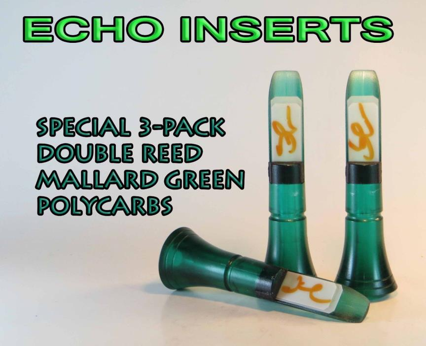 Start making calls that are ducks can't resist with the Echo Calls Bourbon-Water Double Reed Duck Call. It is a polished polycarbonate call that has the look and sound of an acrylic call. It is easy to use and produces a medium volume call. This call is ideal for 5/5(3).