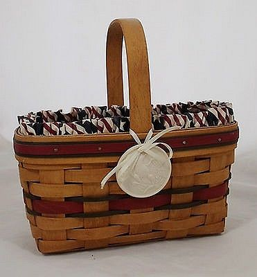 Longaberger 1994 All-American Candle Basket Combo - Perfect