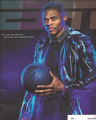 2010's ESPN MAGAZINE ISSUE: MARCH 27, 2017 - RUSSELL WESTBROOK Cover