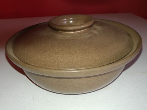 Vintage Heath Ceramics Covered Casserole Dish California USA Made