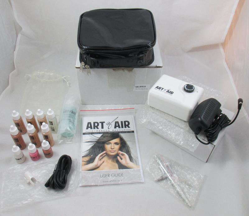 NEW Art of Air Airbrush Makeup Kit Fair To Medium Shades