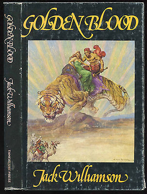 Fiction: GOLDEN BLOOD by Jack Williamson. 1979. Signed 1st hardcover edition.
