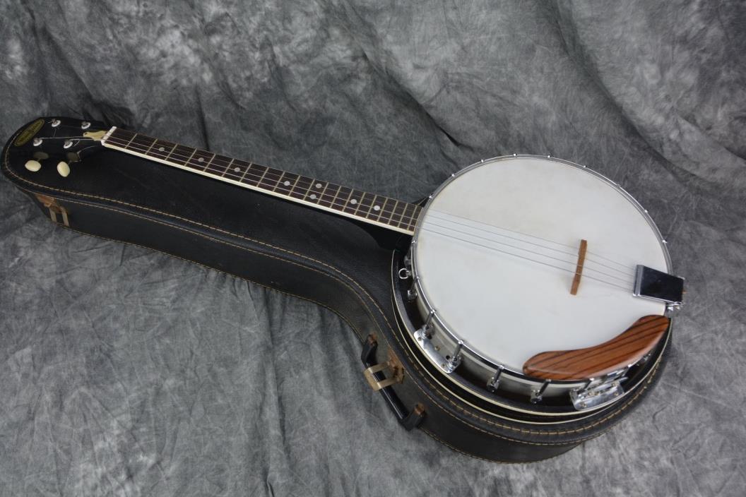 vintage 6 string banjo for sale classifieds. Black Bedroom Furniture Sets. Home Design Ideas