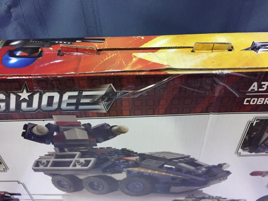 GI Joe Kre-O Kreo Kreons Cobra Armored Assault A3364 New In Box