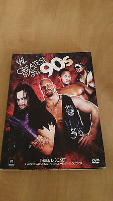 WWE: Greatest Wrestling Stars of the '90s [3 Discs] wwf