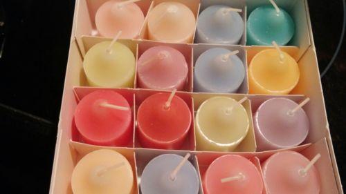 Partylite Votive Candles, Sampler