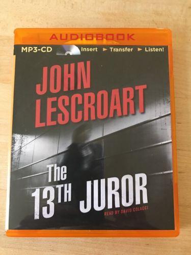 John Lescroart MP3 Cd The 13th Juror