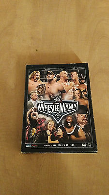 WWE Wrestlemania 22 (3-Disc Set Dvd) collector's edition wwf