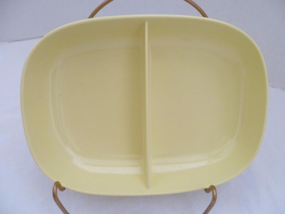 Texas - Ware Divided Bowl #116 Butter Yellow