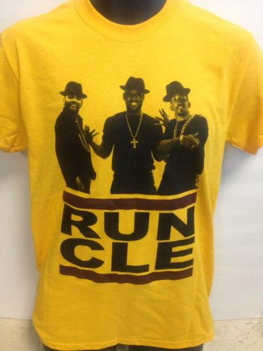 Run CLE Tee Shirt Kyrie Lebrun And Jr Smith