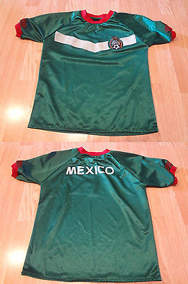 Youth Mexico M Soccer Futbol Jersey (Green) Jersey