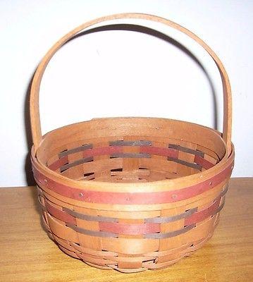 Longaberger 1989 All American Stitching Basket