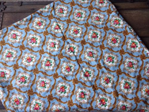 Beautiful Antique Vintage Marignan Grand Teint Meuble Fabric France 2+ Yards