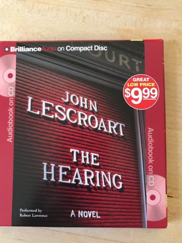 John Lescroart Audio Cd The Hearing