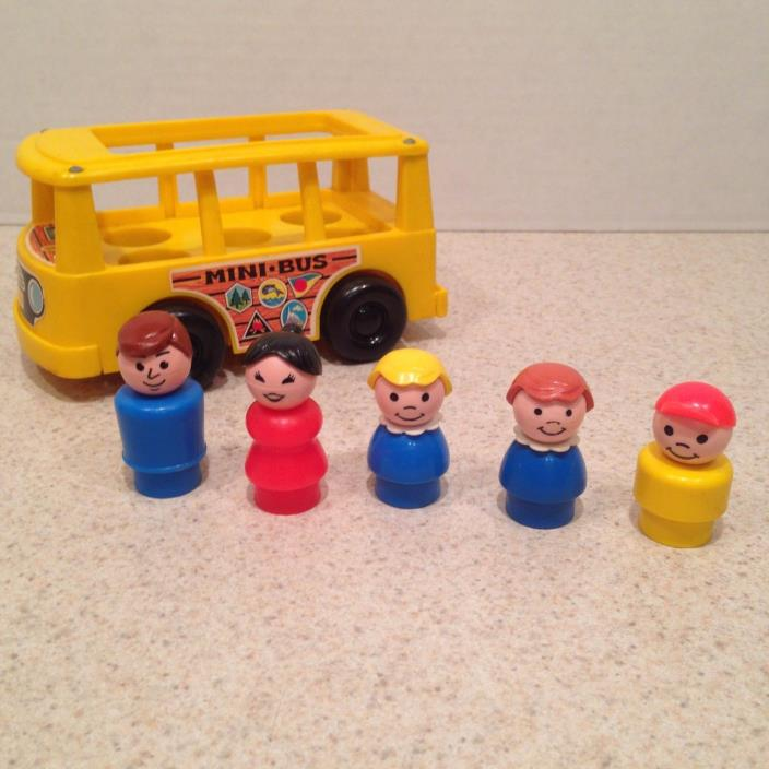 vintage fisher price mini bus for sale classifieds. Black Bedroom Furniture Sets. Home Design Ideas
