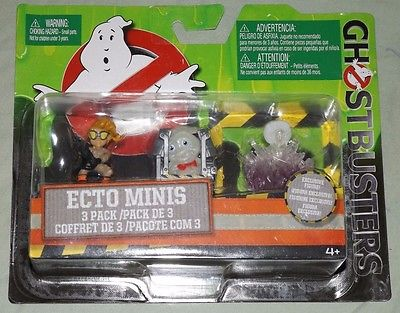 Ghostbusters ecto minis 3 pack Jillian, Rowan in Trap, and Gertrude Ghost