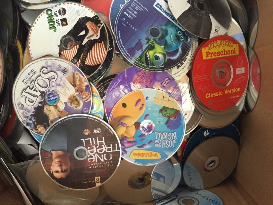 100 DVD, CD, GAME Lot Wholesale! Great For Personal Or Resale!!! Great Variety!!