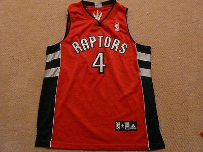 Chris Bosh Toronto Raptors NBA Adidas Jersey Used