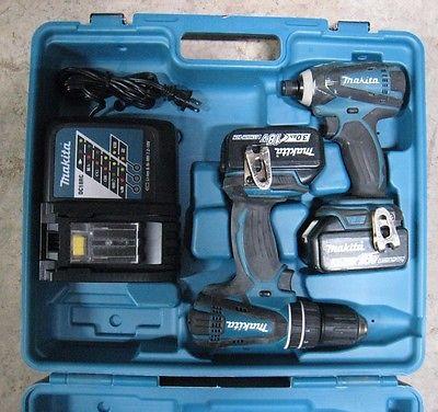 Makita XT211 18V Combo Set Hammer Driver Drill & Impact Driver w/ warranty!