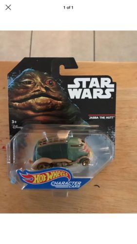 Hot Wheels Star Wars Jabba The Hutt Character Cars Die-Cast Disney