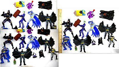 VINTAGE LOT BATMAN HEROES MARVEL TOYS ACCESSORIES     BAT 1