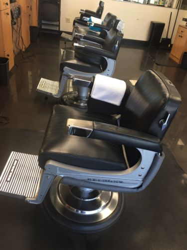 4 Barber Chairs By Belmont